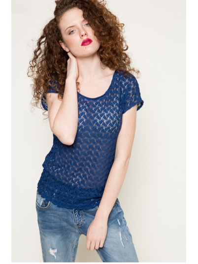 Shirt Woman Blue Vila