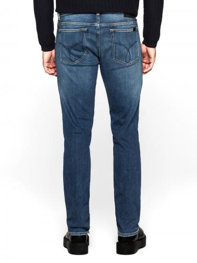 Jeans Slim Straight True Mid Calvin Klein