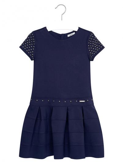 Vestido de manga curta para menina Mayoral