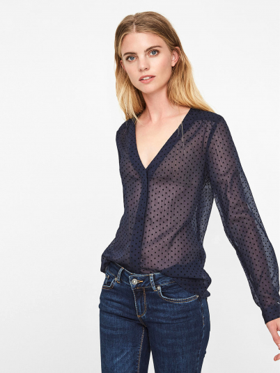 Shirt Woman Navy Blue Vero Moda