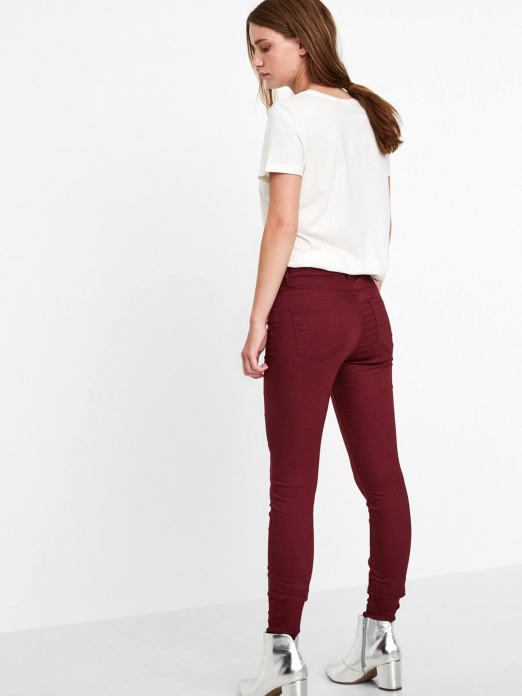 Pants Woman Bordeaux Vero Moda