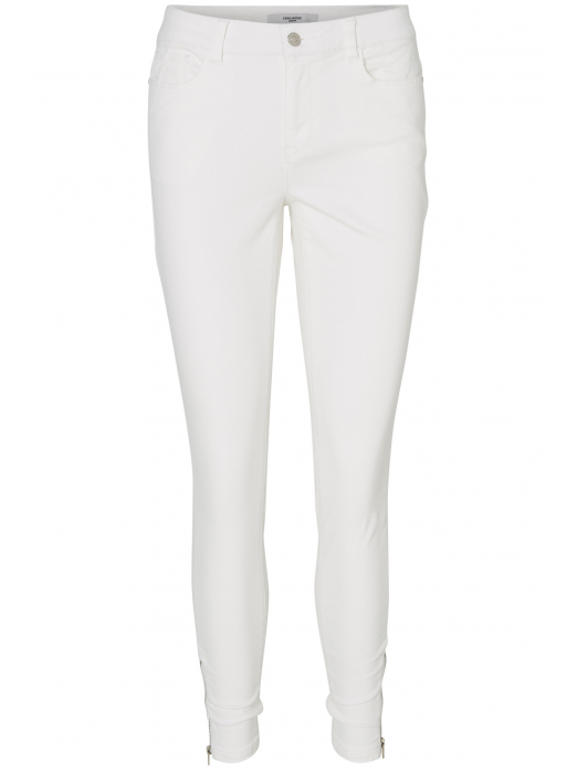 VERO MODA WOMAN SEVEN NW SLIM ZIP ANKLE TROUSERS