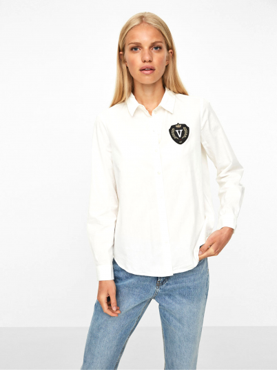 Shirt Woman Cream Vero Moda