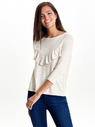 Sweatshirt Woman Beige Only
