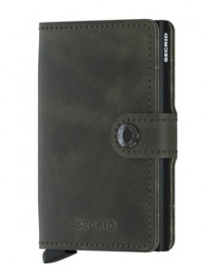 Wallet Man Miniwallet Dark Green Secrid