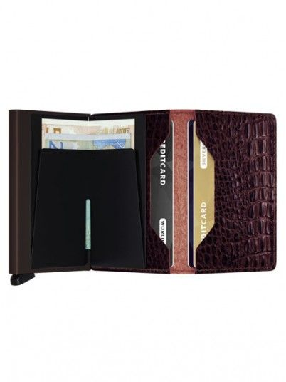 Wallet Man Dark Brown Secrid