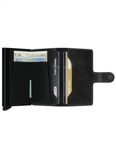 Wallet Man Black Secrid