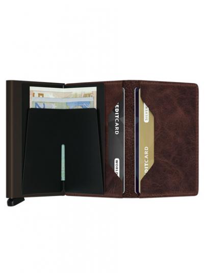 Wallet Man Slimwallet Dark Brown Secrid