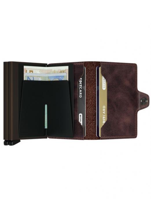 Wallet Man Dark Brown Secrid