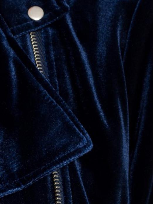 Jacket Woman Navy Blue Noisy May