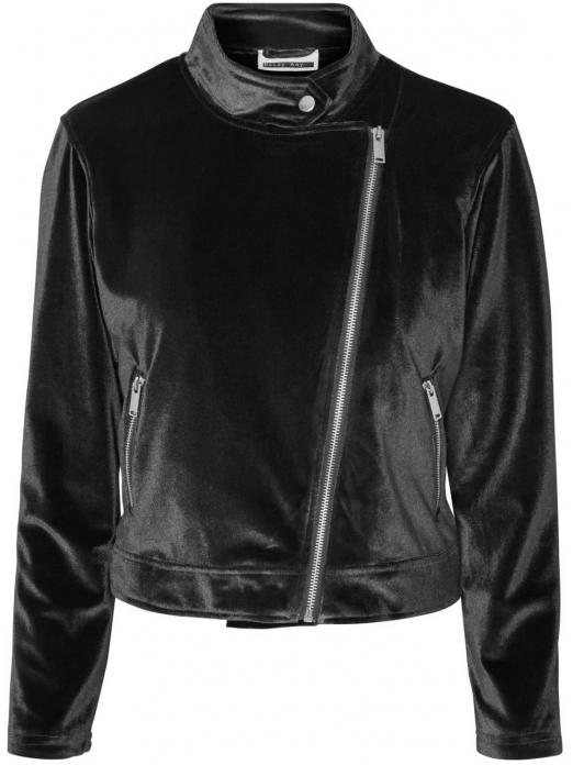 Casaco Bube Velvet L/s Biker Jacket