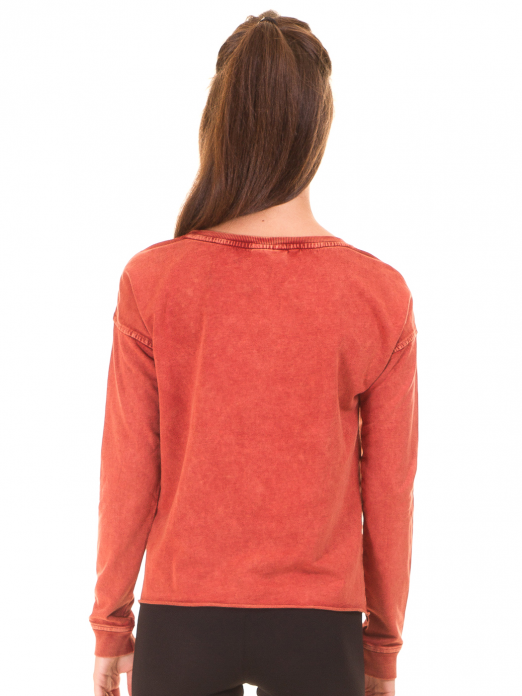 VERO MODA WOMAN MELINDA DEER LS SWEAT BOX SWEATSHIRT