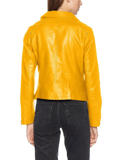Jacket Woman Yellow Only