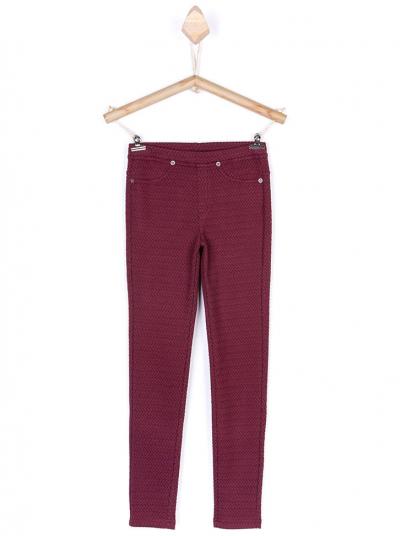 Pantalones Niña Burdeos Tiffosi Kids