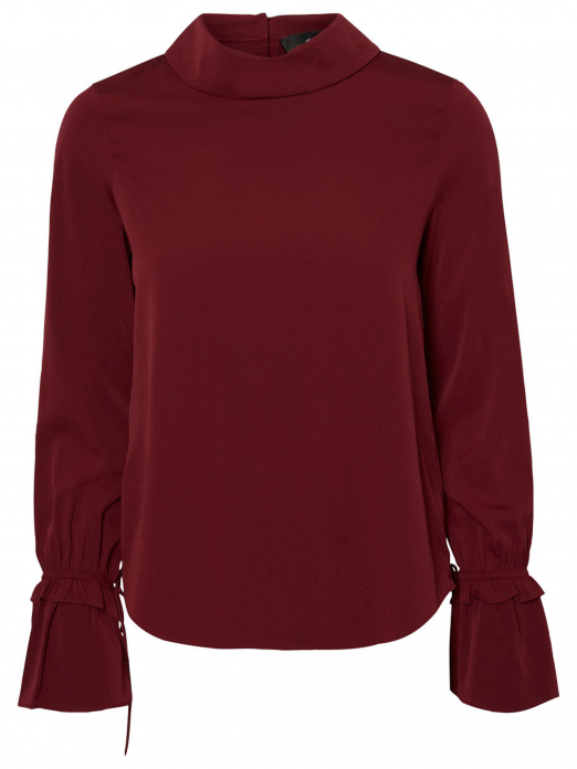 Shirt Woman Bordeaux Vero Moda