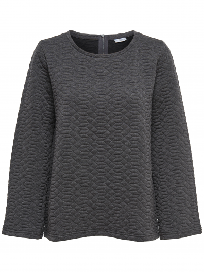 Sweatshirt Woman Dark Grey Jacqueline de Yong
