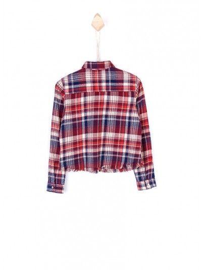 Shirt Girl Bordeaux Tiffosi Kids