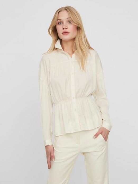 Shirt Woman Cream Vero Moda