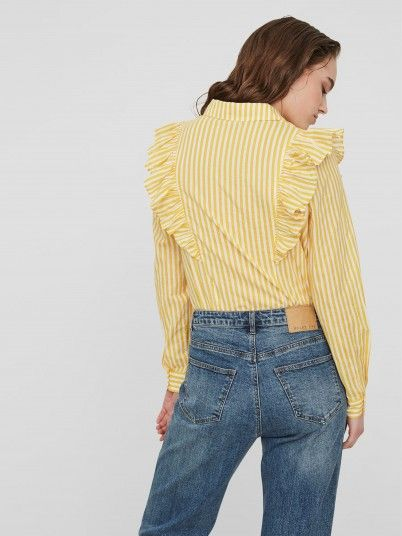 Shirt Woman Yellow Noisy May