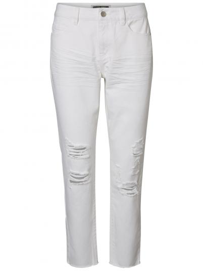 Pantalon Femme Blanc Noisy May