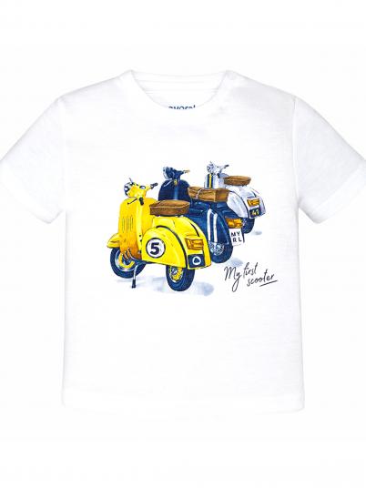 T-shirt menino com motos Mayoral