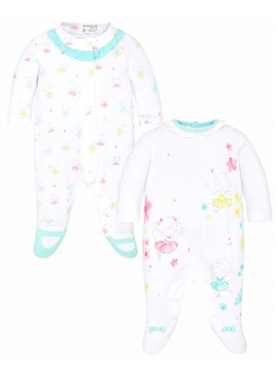 Conjunto dois pijamas compridos para menina Mayoral
