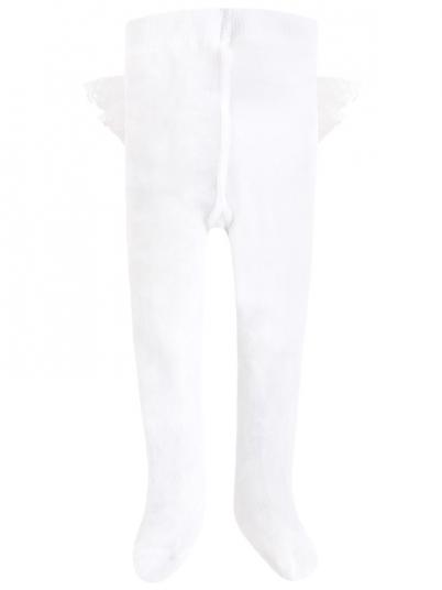 Meia-calça  com folho para bebé menina Mayoral
