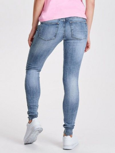 Jeans Mulher Skinny Reg Jacqueline
