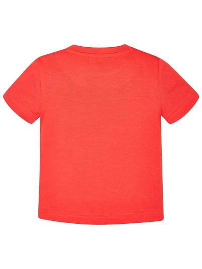 T-shirt menino com gola canelada Mayoral