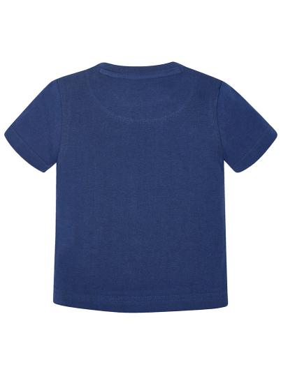 T-shirt baby menino com gola canelada Mayoral