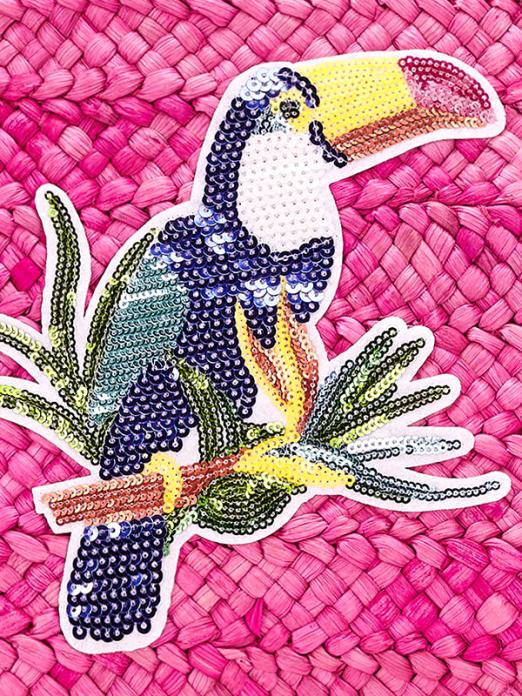 Mala para menina com bordado com lantejoulas Mayoral