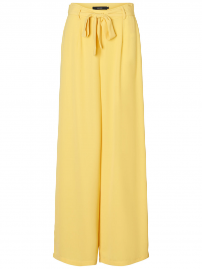 Pants Woman Yellow Vero Moda