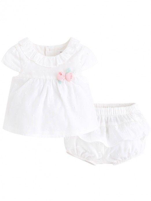 Conjunto duas peças blusão bebé menina Mayoral