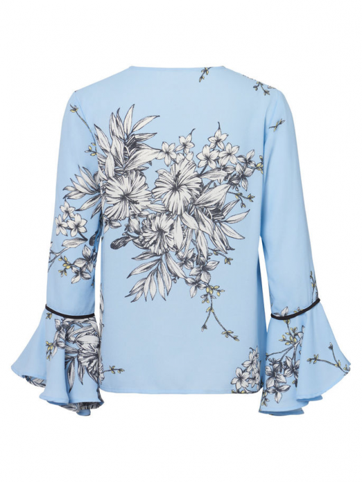 Shirt Woman Light Blue Vero Moda