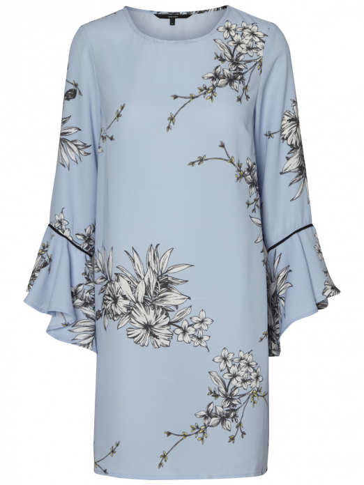Dress Woman Light Blue Vero Moda