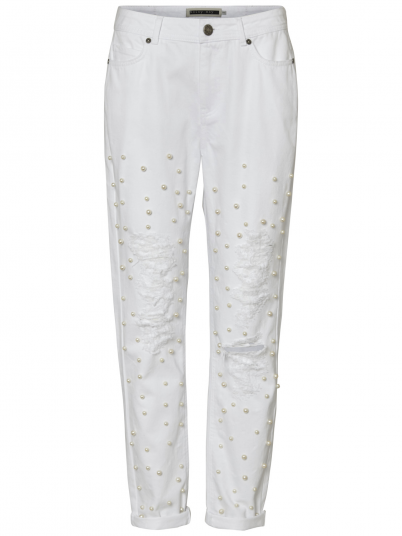 Pants Woman White Noisy May
