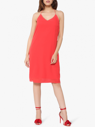 Dress Woman Red Vero Moda