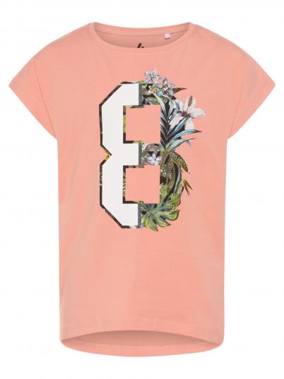 T-Shirt Girl Salmon Name It