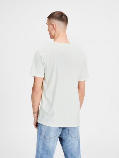 T-Shirt Man Cream Jack & Jones