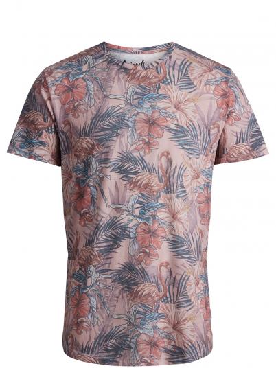 T-Shirt Man Rose Jack & Jones