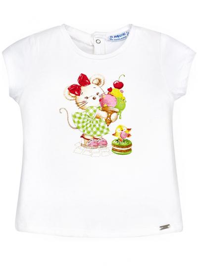 T-shirt para bebé menina Mayoral