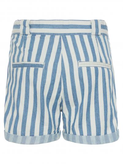 Shorts Girl Blue Stripe Name It