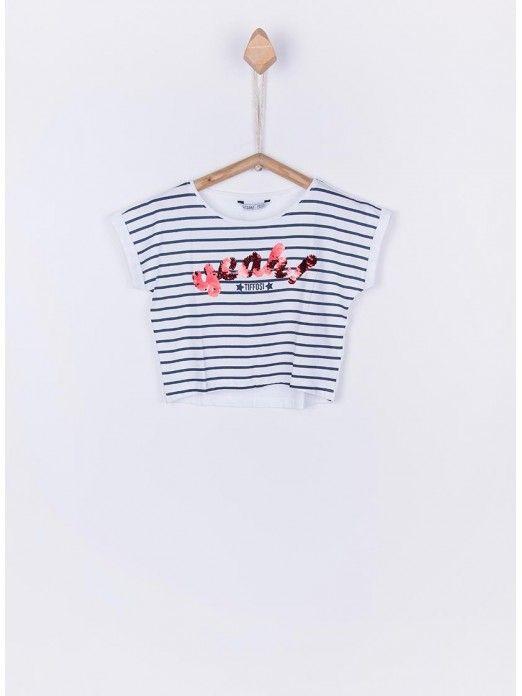 T-Shirt Menina Jennifer Tiffosi