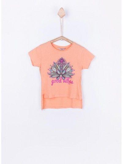 T-Shirt Menina Israel Tiffosi