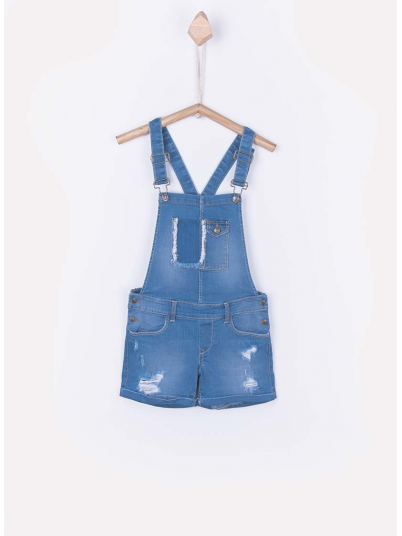 Overall Girl Jeans Tiffosi Kids