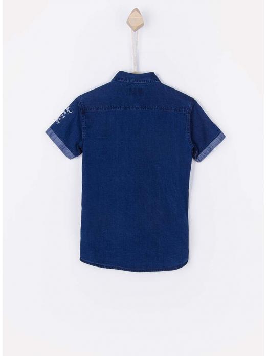 Camisa Niño Jeans Oscuros Tiffosi Kids