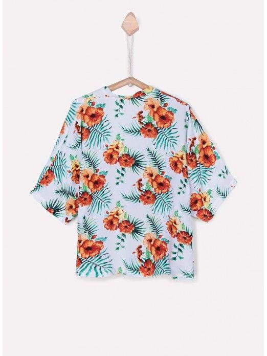 Jacket Girl Floral Tiffosi Kids