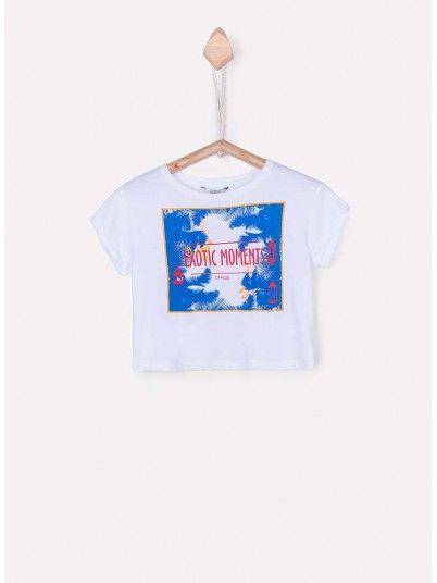 T-Shirt Menina Bisera Tiffosi