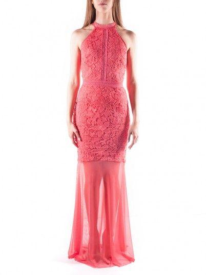 Dress Woman Coral Lipsy
