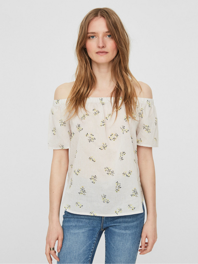 Shirt Woman Beige Vero Moda